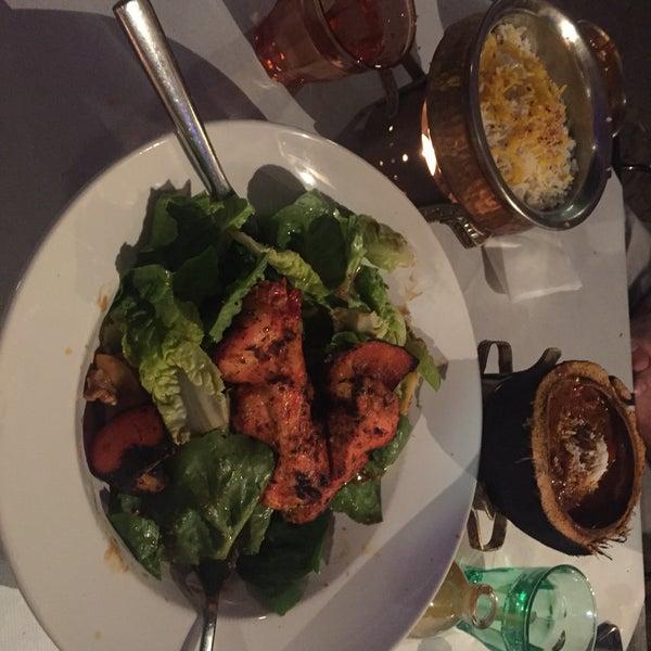 SoHo salad, surprising, tasty and with soft, well marinated tandoori chicken