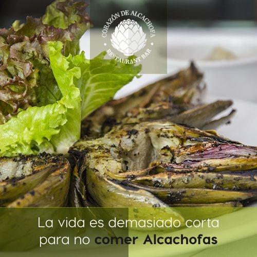 Complacemos los gustos más exigentes. La vida es demasiado corta para no comer Alcachofas. ¿Ya las probaste?