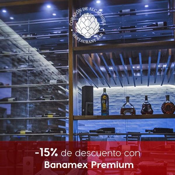 Nos gusta consentirte. 15% de descuento con Banamex Premium