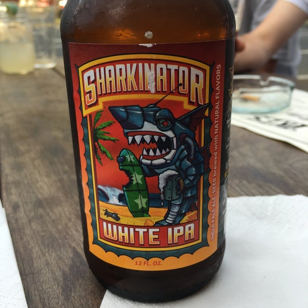Sharkinator beer rocks! Cheeseburger is great and the fries and absolutely delicious - can't stop!!