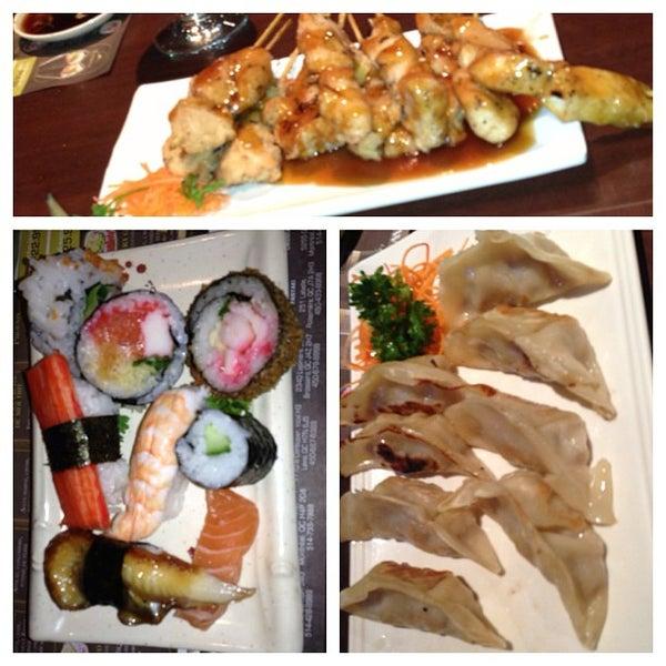 gravid og sushi