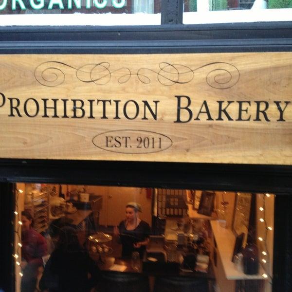 รูปภาพถ่ายที่ Prohibition Bakery โดย Alessandra B. เมื่อ 1/8/2013