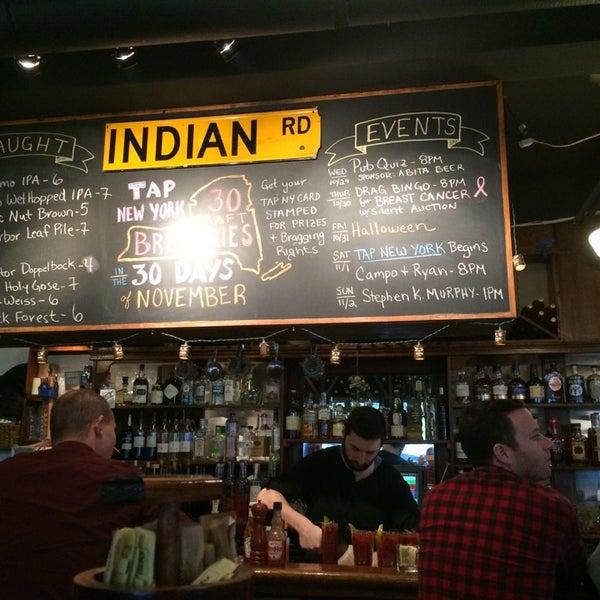 Das Foto wurde bei Indian Road Café von Susan W. am 11/1/2014 aufgenommen