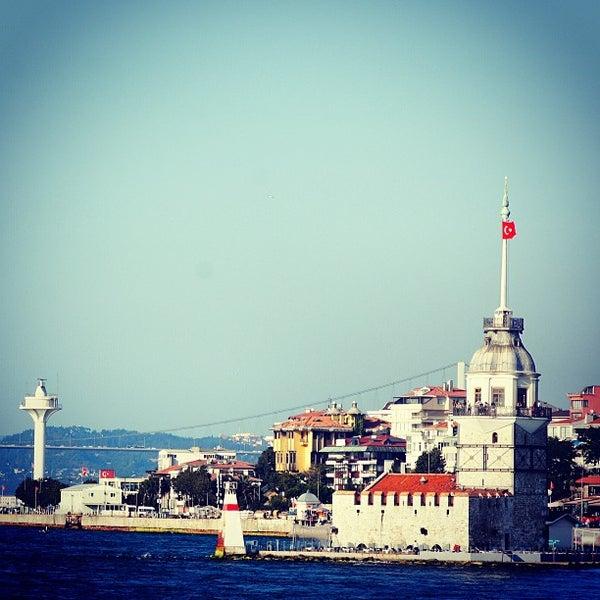 7/28/2013 tarihinde Mehmet T.ziyaretçi tarafından Kız Kulesi'de çekilen fotoğraf