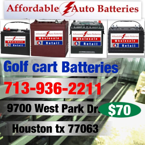 Most Affordable Auto Batteries In Houston All Type Of For Vehicles Prices Range Between