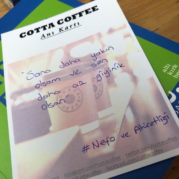 Foto tirada no(a) Cotta Coffee por Gamze Y. em 5/10/2019