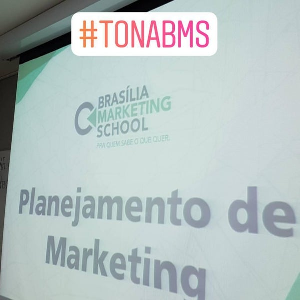 Foto tirada no(a) Brasilia Marketing School (BMS) por Fernando A. em 9/15/2017