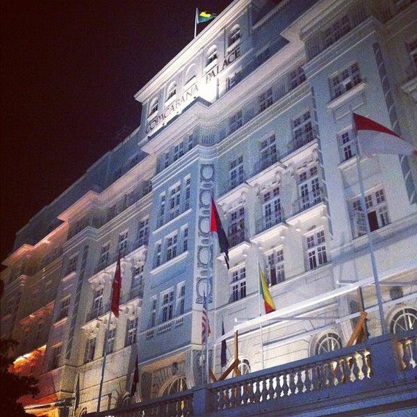 11/25/2012에 Gabriel A.님이 Belmond Copacabana Palace에서 찍은 사진