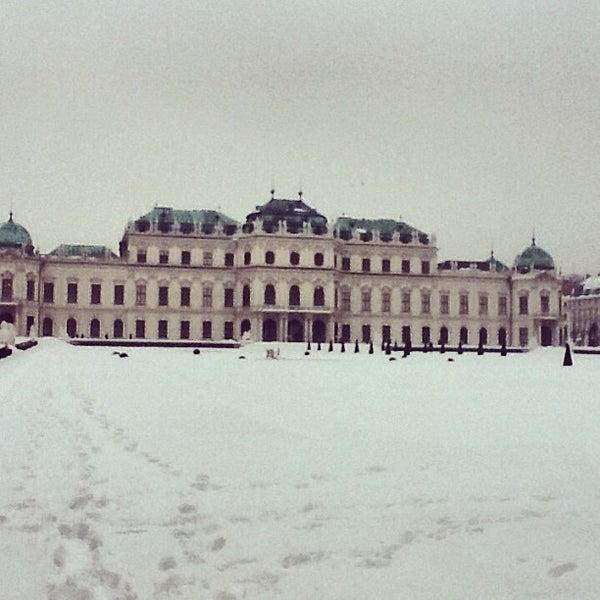 1/24/2013 tarihinde olsoy k.ziyaretçi tarafından Oberes Belvedere'de çekilen fotoğraf