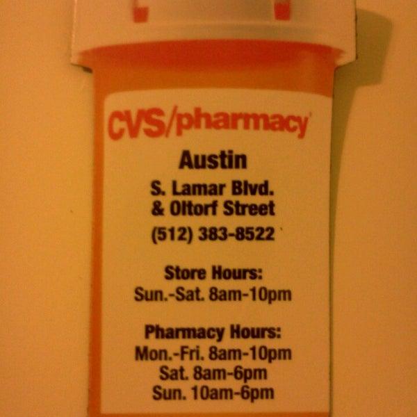 cvs pharmacy south lamar austin tx