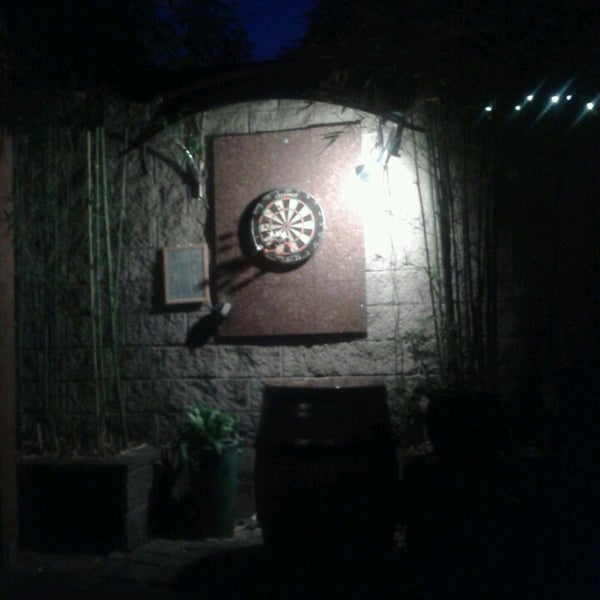 Outdoor darts...awesome!