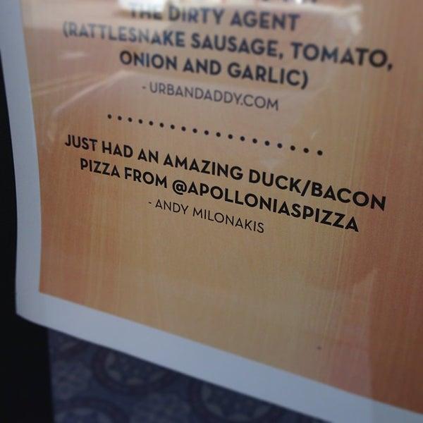 Foto scattata a Apollonia's Pizzeria da Midtown Lunch LA il 1/30/2013