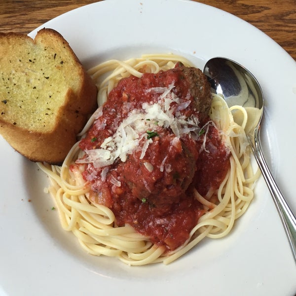 The linguini and meatballs are a must!