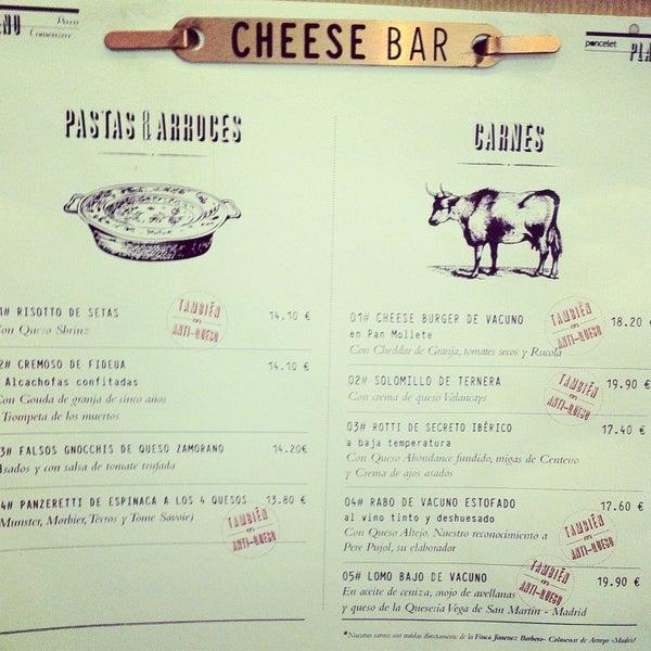 Foto scattata a Poncelet Cheese Bar da Hazal A. il 12/30/2012