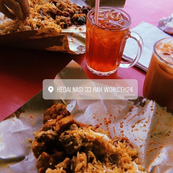 Nasi Kak Wok Shah Alam Seksyen 13 - Umpama h