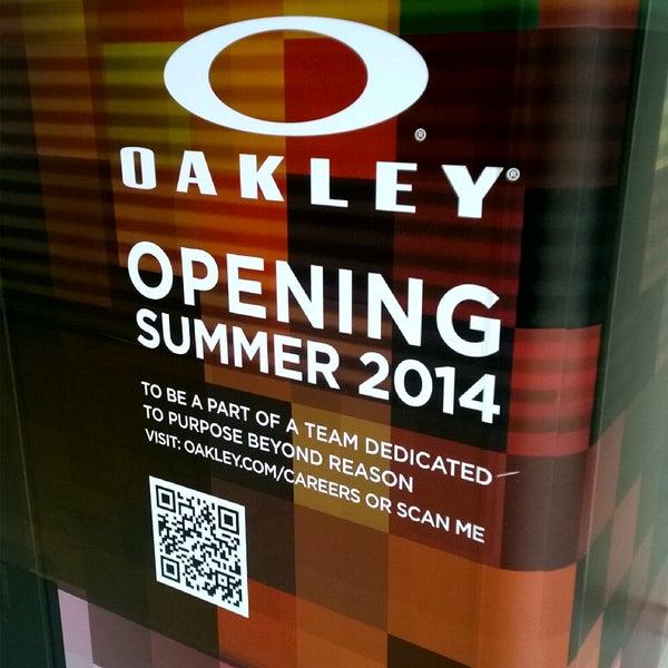 0972d54dcb4 Photo taken at Oakley Store by Brandon P. on 6 11 2014