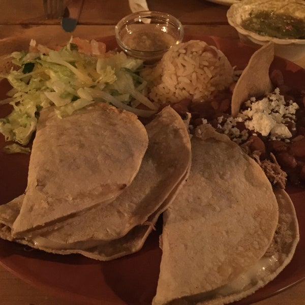 "The Quecas de maiz ""Barbacoa"" (with lamb meat) are amazing! But compared with other Mexican restaurants in Berlin they are very expensive. It's like they doubled the prices of their competitors."