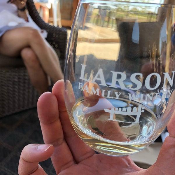Das Foto wurde bei Larson Family Winery von Stephen M. am 8/24/2019 aufgenommen