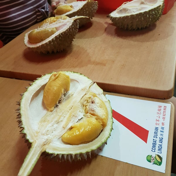 "Photo prise au ""Combat"" Top Quality Durian par Yean Ching L. le9/19/2016"