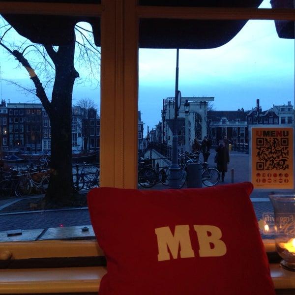 Photo prise au Café De Magere Brug par Monica v. le3/2/2014
