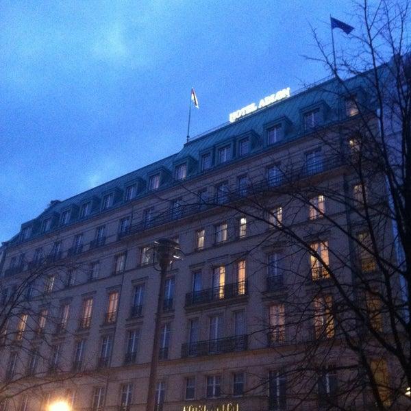2/7/2013에 Isabella R.님이 Hotel Adlon Kempinski Berlin에서 찍은 사진