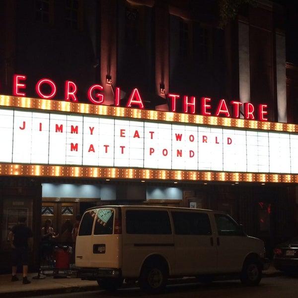 Das Foto wurde bei Georgia Theatre von Joe W. am 10/8/2013 aufgenommen