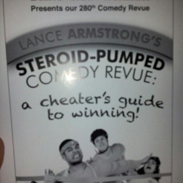 4/19/2013에 Justin Y.님이 Brave New Workshop Comedy Theatre에서 찍은 사진