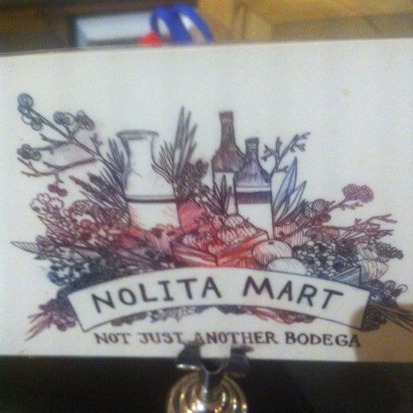 11/12/2013にIgor K.がNolita Mart & Espresso Barで撮った写真