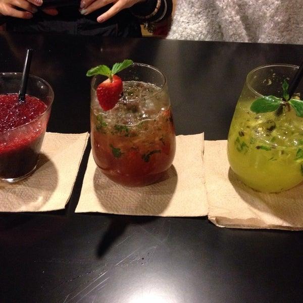 Los cocktails estàn buenisisisimos! Mi favorito es el de corazón (fresa y hierbabuena). Si quieres buen mezcal, aquí!