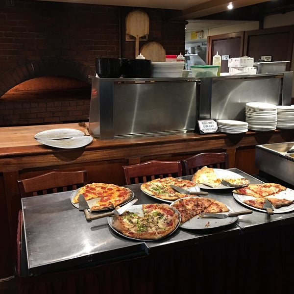 Wood fired pizza and good beer selection is good for me. Pizza buffet for lunch at $8.00 per is a good price.