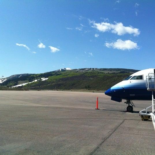 Photo prise au Aspen/Pitkin County Airport (ASE) par Rob M. le4/28/2012
