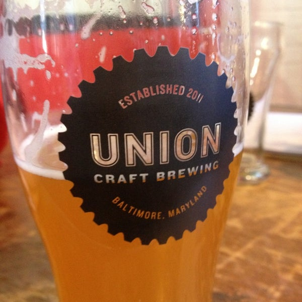 Photo taken at Union Craft Brewing by Emma C. on 2/9/2013