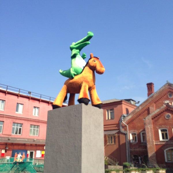 7/4/2013 tarihinde Svetlana I.ziyaretçi tarafından Winzavod'de çekilen fotoğraf