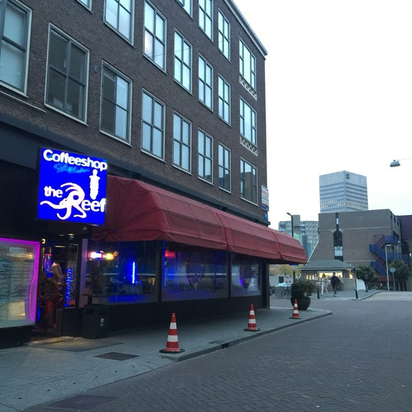 Coffeeshop The Reef Stadsdriehoek Rotterdam Zuid Holland