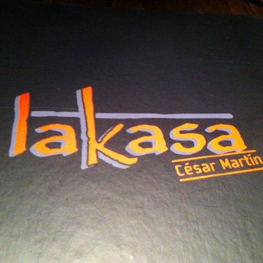 Снимок сделан в Restaurante Lakasa пользователем Basa W. 11/10/2012