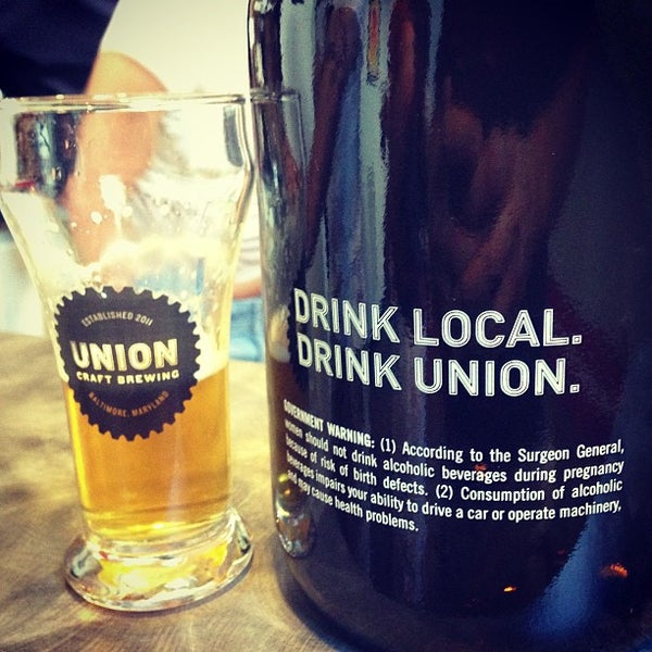 Photo taken at Union Craft Brewing by kyle m. on 6/29/2013