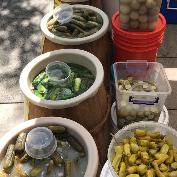 You should visit the market and must find the best pickles in town.