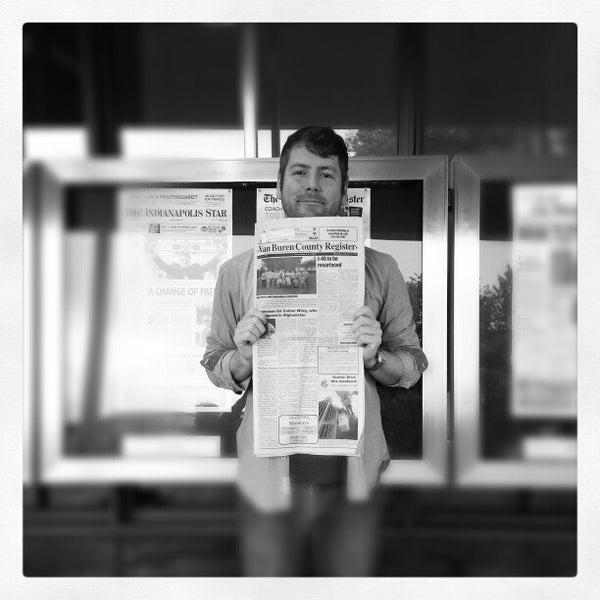Foto scattata a Newseum da Matthew M. il 10/19/2012