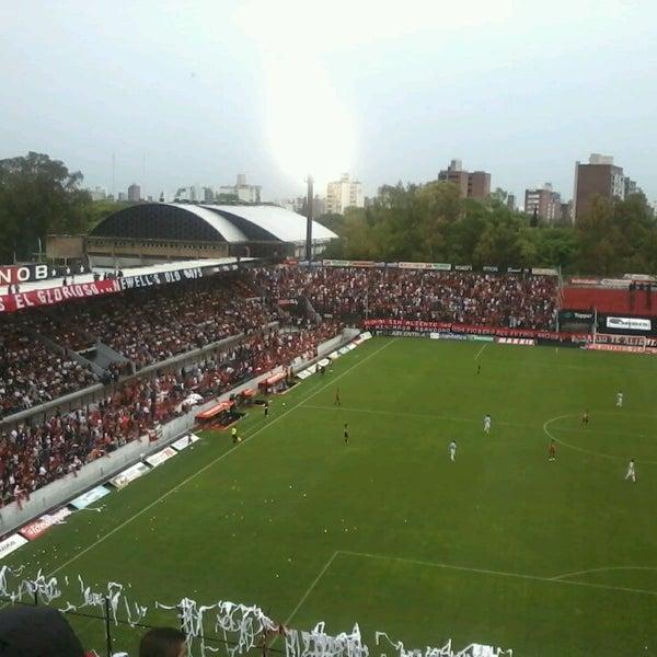 2/14/2013 tarihinde Nicolás G.ziyaretçi tarafından Estadio Marcelo Bielsa (Club Atlético Newell's Old Boys)'de çekilen fotoğraf