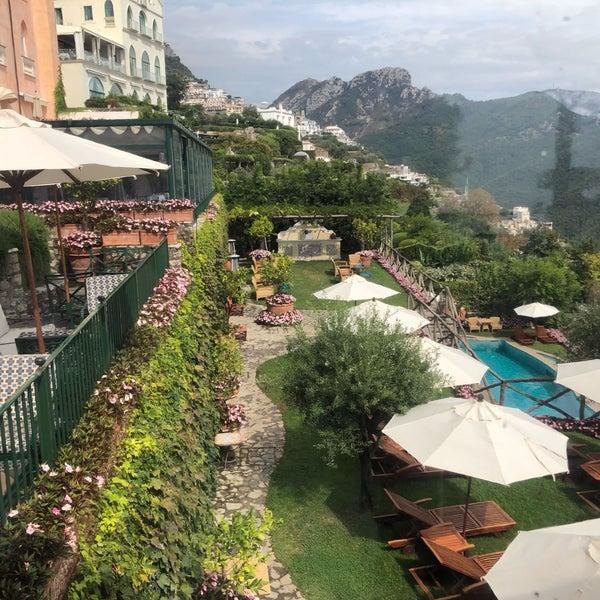 Foto diambil di Hotel Palazzo Avino oleh Louisa L. pada 9/26/2019
