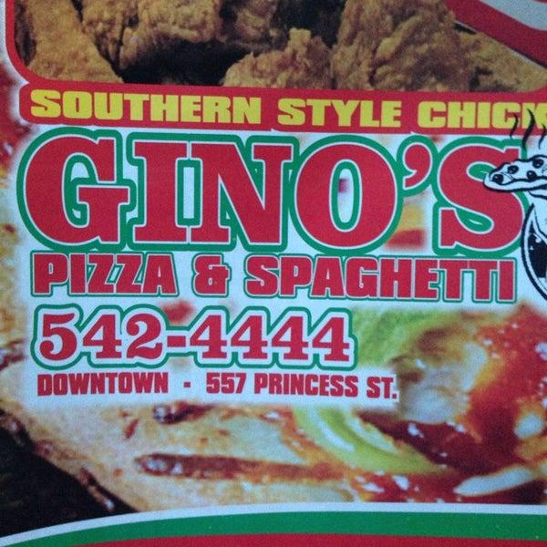 Ginos Pizza And Spaghetti 557 Princess Street