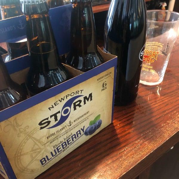 Das Foto wurde bei Newport Storm Brewery von Addison G. am 10/14/2018 aufgenommen