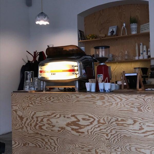 Foto diambil di Mikyna Coffee & Food Point oleh Lukáš T. pada 9/24/2017