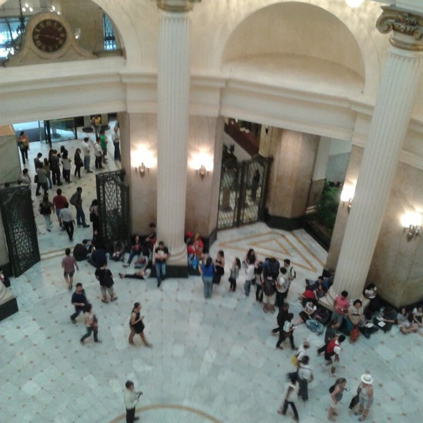Photo taken at Centro Cultural Banco do Brasil (CCBB) by Ariana T. on 7/17/2013