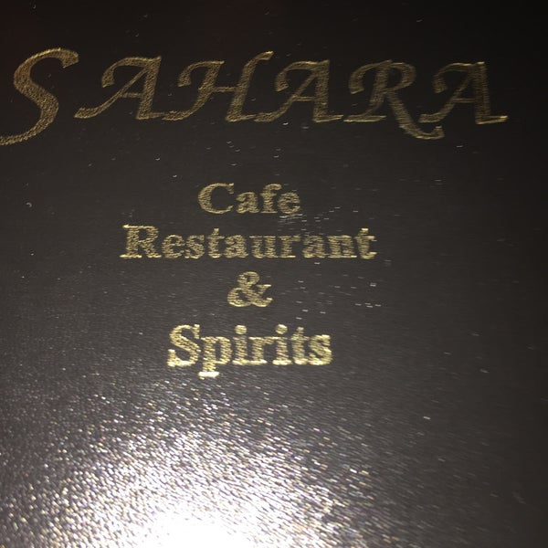 Das Foto wurde bei Sahara Restaurant von Howard R. am 2/17/2016 aufgenommen