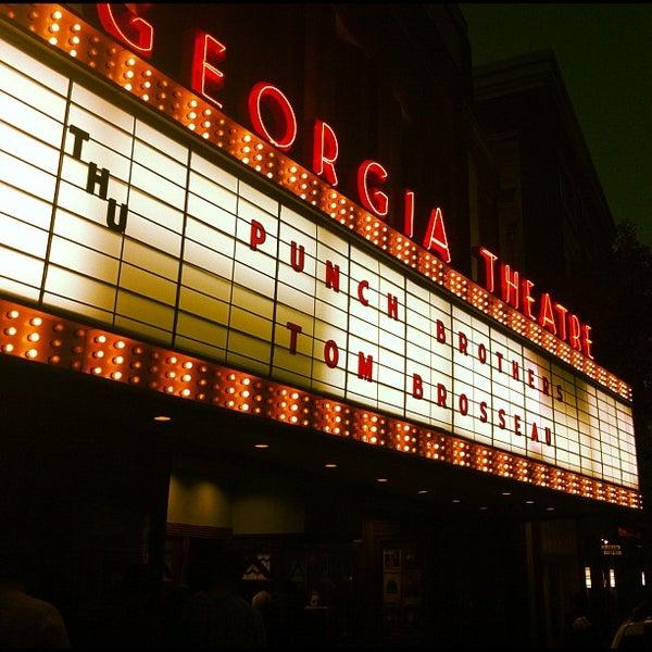 Das Foto wurde bei Georgia Theatre von Taylor D. am 10/18/2012 aufgenommen