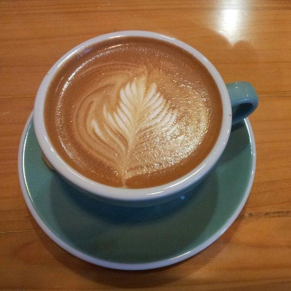Снимок сделан в Café del Volcán пользователем Gie_Chloe E. 6/11/2013