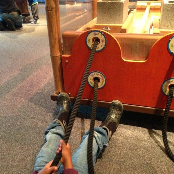 Снимок сделан в Minnesota Children's Museum пользователем Joe M. 3/16/2013