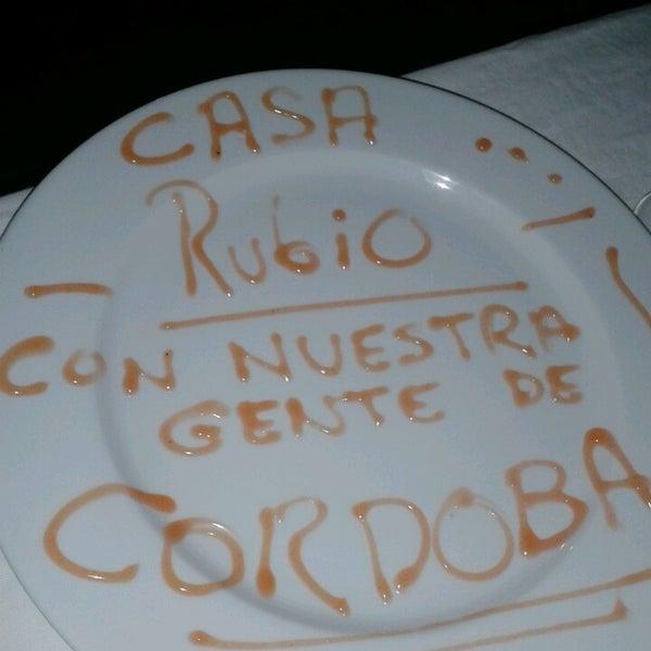 4/13/2013 tarihinde Pedro Ignacio P.ziyaretçi tarafından Casa Rubio'de çekilen fotoğraf