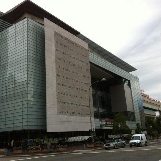 Снимок сделан в Музей журналистики и новостей пользователем arbkv 10/8/2012